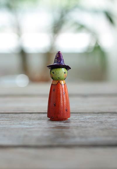 Wendy Witch Art Doll
