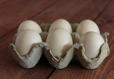 Wooden Eggs (set of 6)