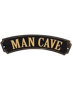 Man Cave Metal Sign