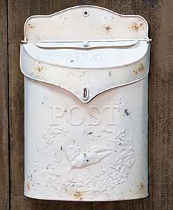 Distressed Postal Wall Box