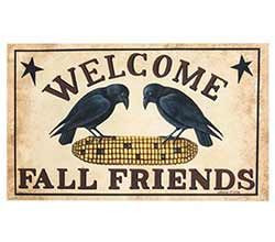Welcome Fall Friends Doormat