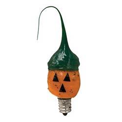 Jack o Lantern Silicone Light Bulb