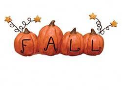 Fall Pumpkins Shelf Sitter