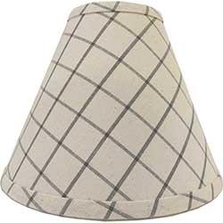 Summerville Gray Lamp Shade - 10 inch