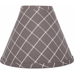 Summerville Pewter Lamp Shade - 10 inch