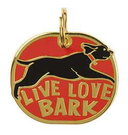 Live Laugh Bark Pet Charm
