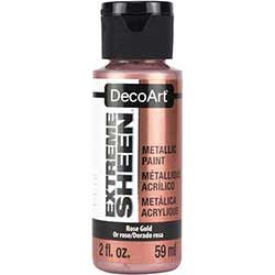 DecoArt Extreme Sheen Metallic Paint - Rose Gold