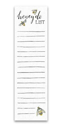 Honey Do List List Notepad