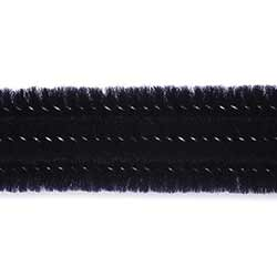 Black Chenille Stems, 3 mm (25 pack)