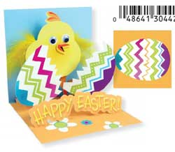 Hatching Chick Pop-up Card
