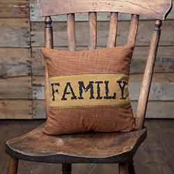 Heritage Farms Family Throw Pillow