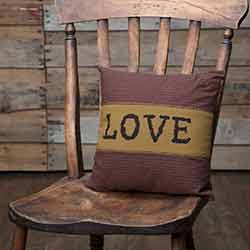 Heritage Farms Love Throw Pillow