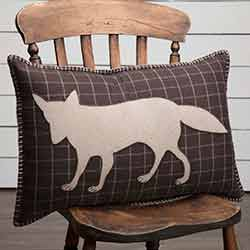 Wyatt Fox Applique Pillow