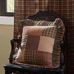 Crosswoods Patchwork Throw Pillow