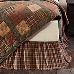 Crosswoods Twin Bed Skirt