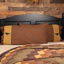 Heritage Farms Crow King Size Pillow Cases (Set of 2)