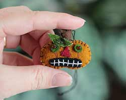 Mini Jack o'Lantern Ornament
