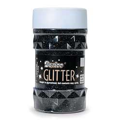 Black Glitter (4 ounces)