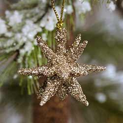 Mini Moravian Star Ornament