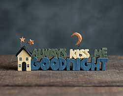 Always Kiss Me Goodnight with House