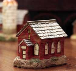 Primitive Town - Red Slate Church