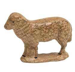 Antique Sheep Figurine