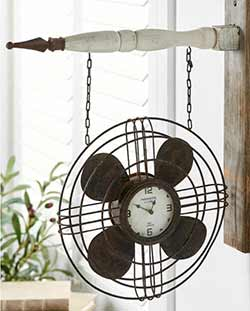 Fan with Clock Arrow Replacement