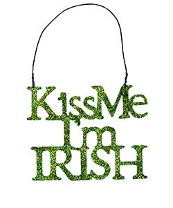 Kiss Me, I'm Irish Ornament