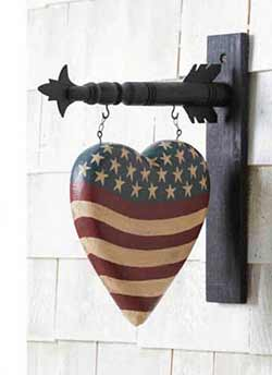 Americana Heart Arrow Replacement
