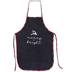 Merry and Bright Buffalo Check Apron