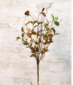 Antique Eucalyptus Floral Spray