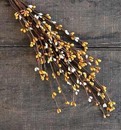 Mustard, Cream, Tea Stain Pip Berry Pick