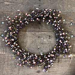 Spring Mix Berry Wreath (16 inch)