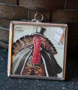 Thanksgiving Square Charm