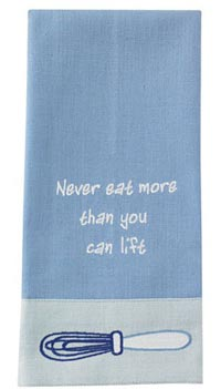 Eat More Than Lift Guest Towel