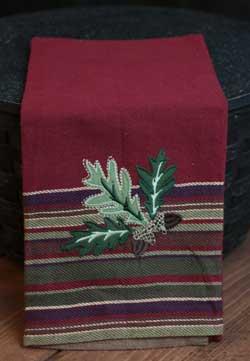 Acorn Leaves Kitchen Towel