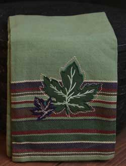 Maple Leaves Dishtowel