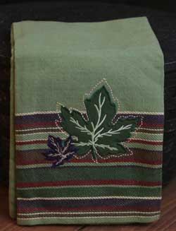 Maple Leaves Dishtowel