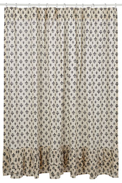 Elysee Shower Curtain (Fleur de lis)
