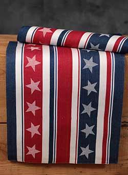 Stars & Stripes Jacquard Placemat