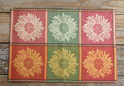 Tuscan Sunflower Jacquard Placemat