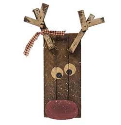 Lath Reindeer Hanger