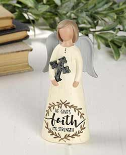 Faith Angel with Cross