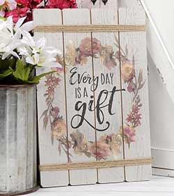Every Day Is a Gift Wall Art