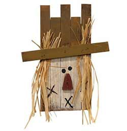 Lath Scarecrow Wall Decor
