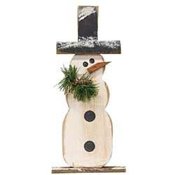 Pine Snowman Stander