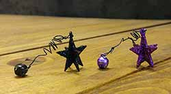 Halloween Star and Bell Ornament