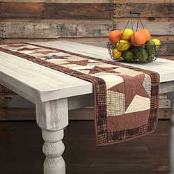Abilene Star Table Runner - 72 inch