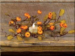 Fall Mini Pumpkins 2.5 inch Candle Ring
