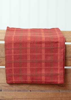 Fall Plaid Kitchen Towel